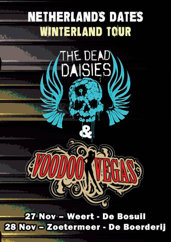 image for Voodoo Vegas rock Holland with Dead Daises