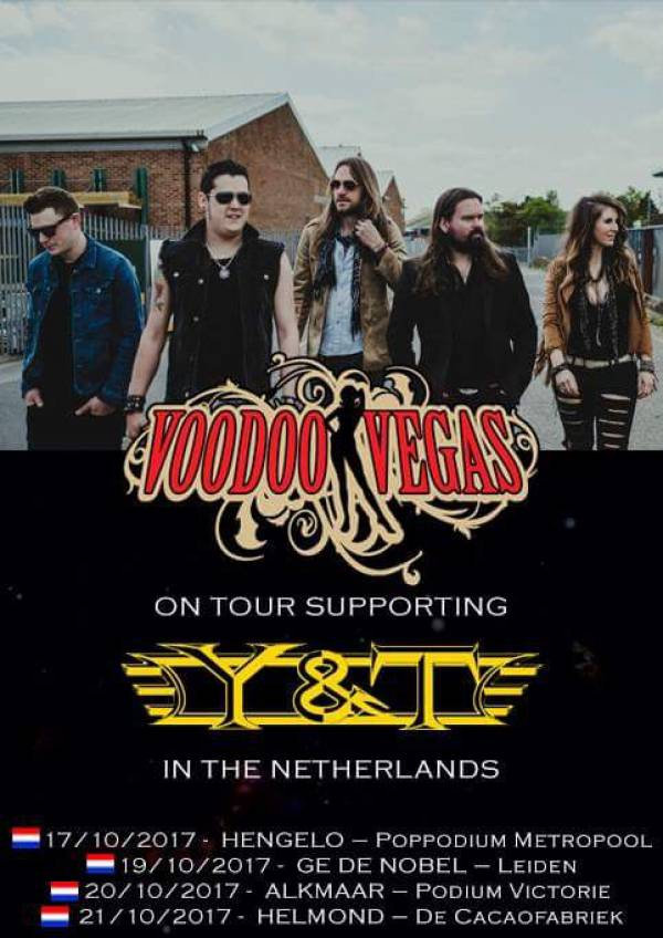 image for Voodoo Vegas set to tour Netherlands with Y&T