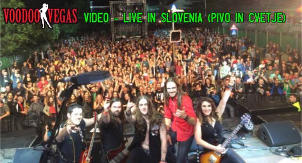 image for VIDEO – Voodoo Vegas Live In Slovenia